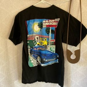 In N Out T-Shirt Black Medium
